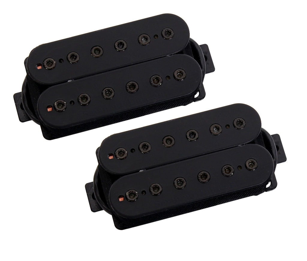 Seymour Duncan Alpha and Omega Mark Holcomb Pickup Set 6 String, Black + Harness