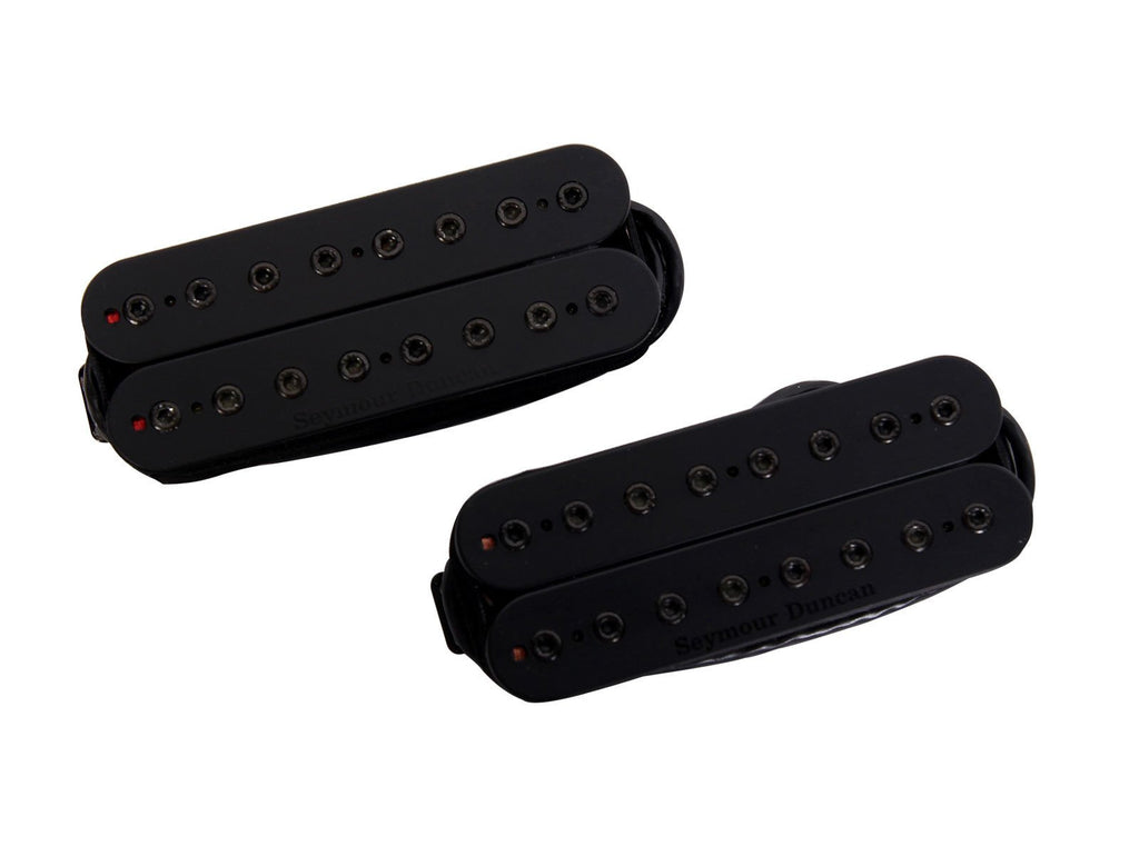 Seymour Duncan Alpha and Omega Mark Holcomb Pickup Set 8 String, Black