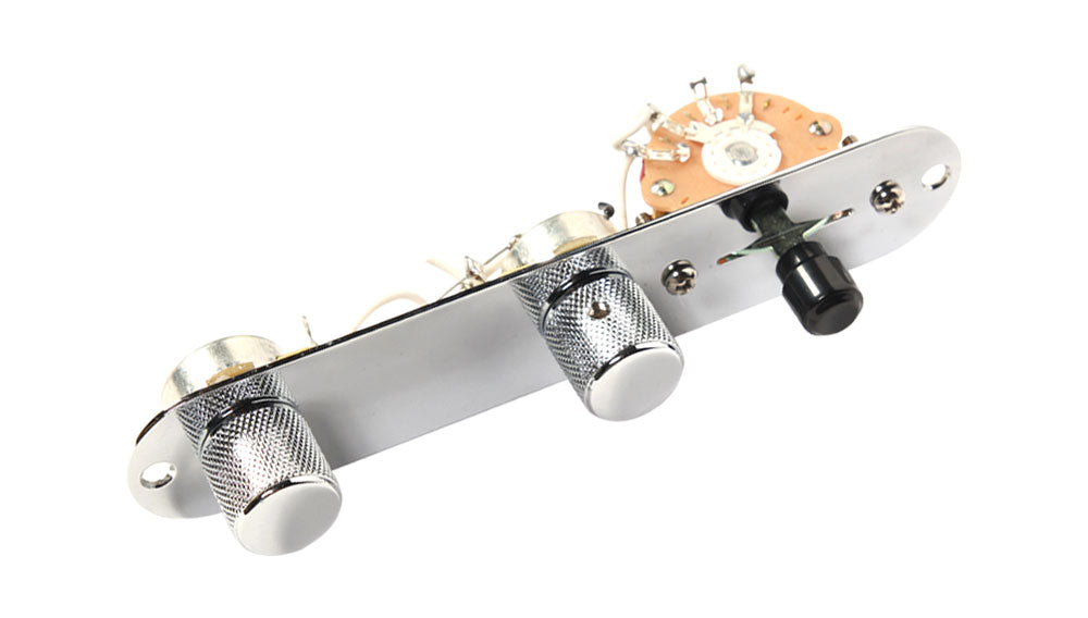 Fender American Professional Tele Loaded Pickguard-Pickups-Control Plate, Parchment