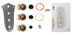 920D Custom JB-C-KIT Upgraded Replacement Wiring Kit and Control Plate for Dual Pickup Bass