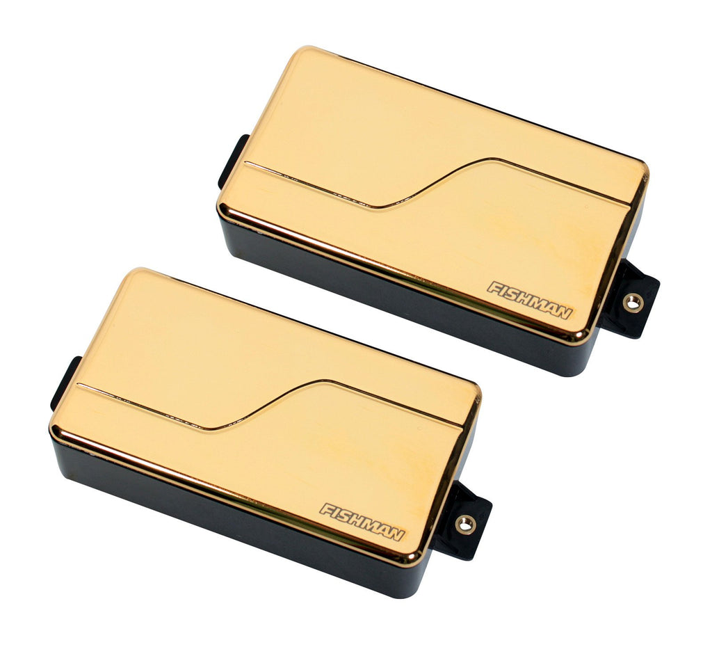 Fishman Fluence Modern Humbucker Pickup Set, Gold PRF-MHB-SG2