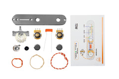 920D Custom T3W-C-KIT Telecaster 3-Way Chrome Wiring Kit