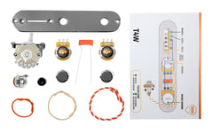 920D Custom T4W-C-KIT Telecaster 4-Way Chrome Wiring Kit