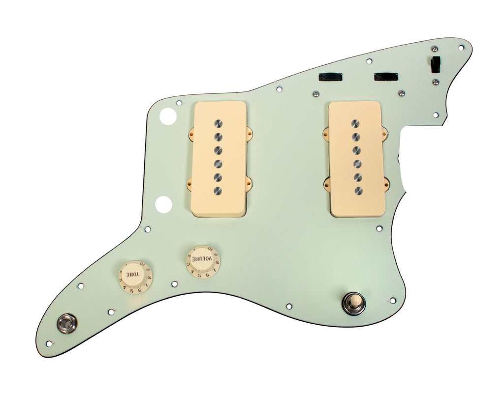 920D Custom Seymour Duncan Antiquity Jazzmaster Loaded Pickguard w/ Vintage Spec Wiring, MG/AW