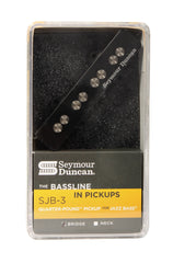 Seymour Duncan SJB-3b Quarter-Pound for Jazz Bass Bridge Pickup Black