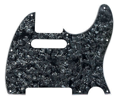 920D CS Black Pearl 3 Ply Strat Cut Pickguard for Fender Tele CNC Precision Cut