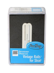 Seymour Duncan SVR-1b Vintage Rails for Strat Bridge Pickup, White