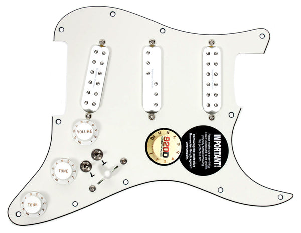 920D Custom Loaded Pickguard Seymour Duncan Everything Axe