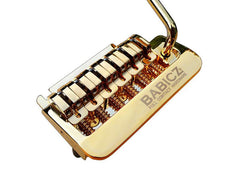 Babicz Full Contact Hardware 2 Point Strat Guitar Tremolo, Gold