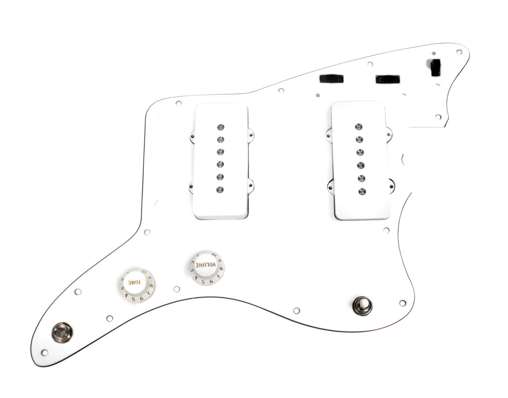 920D Custom Shop Fender Jazzmaster Loaded Pickguard Duncan Antiquity II WH/WH