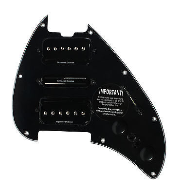 Seymour Duncan P-Rails HSH Loaded Pickguard for MusicMan Silhouette