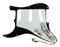 920D Fender Strat 5-way 50's Style Prewired 3 Ply 11H Pickguard