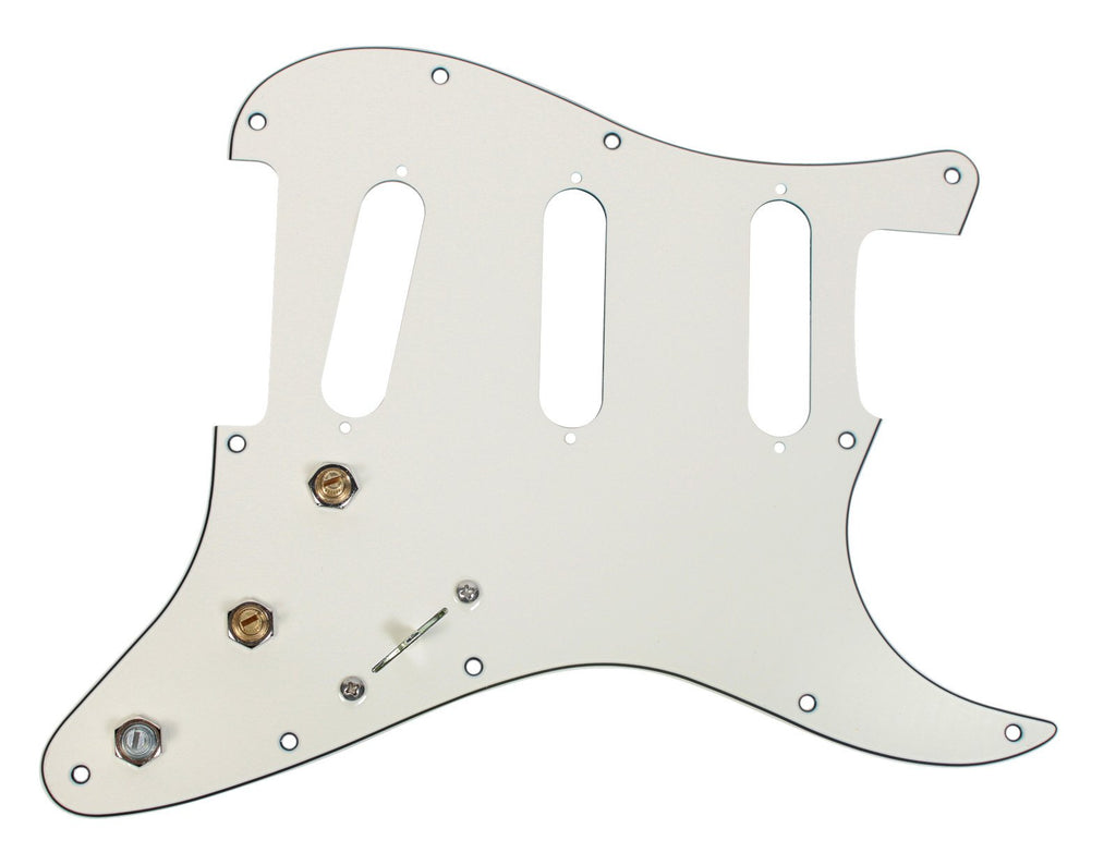 920D Fender Strat 5-way Prewired 3 Ply 11H Pickguard