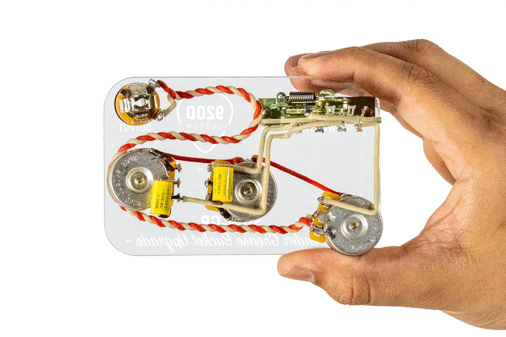 920D Custom S5W-GB Grease Bucket Style 5-Way Wiring Harness ... on strat wiring switches, strat decal, strat 7-way wiring, strat wiring kit, strat wiring connector, strat jack plate, strat fender, strat wiring guide, strat switch wiring,