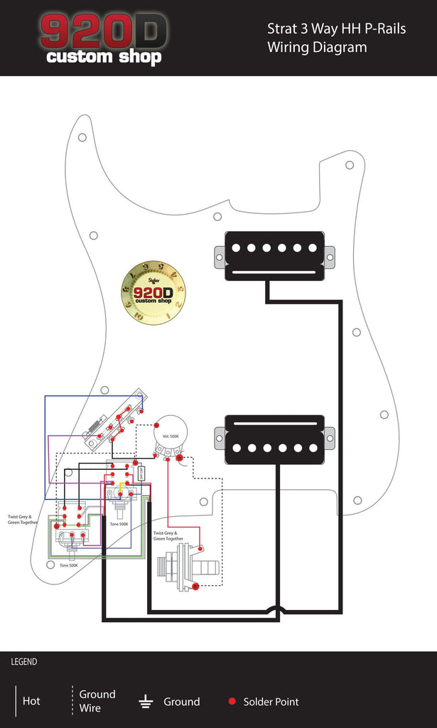 Awesome Seymour Duncan P Rails Hh Loaded Strat Pickguard Black Pearl Black Wiring Cloud Toolfoxcilixyz