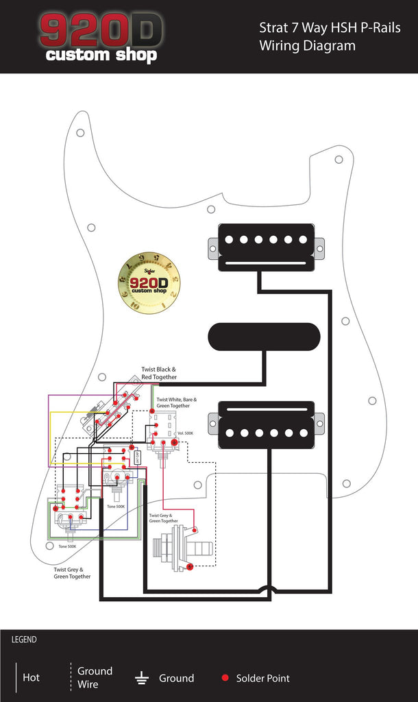Left hand strat wiring diagram wiring diagram 920d custom shop loaded pickguard seymour duncan p rails hsh 3 toggle gibson wiring diagram 920d cheapraybanclubmaster Choice Image