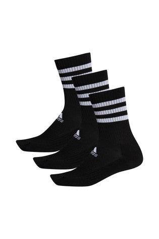 3 Stripe Crew Socks