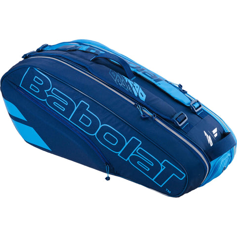 6 Racket Bag Pure Drive Blue