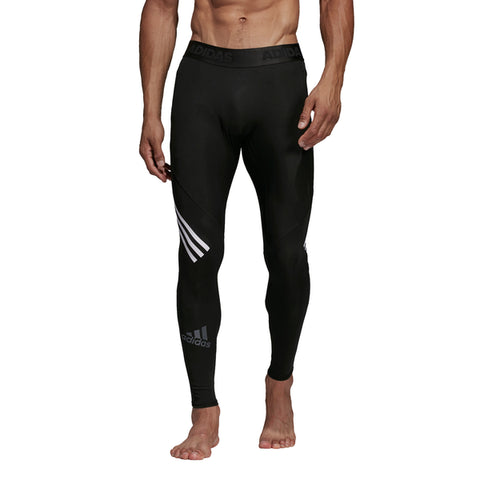 Alphaskin Sport+ Long 3-Stripes Tights