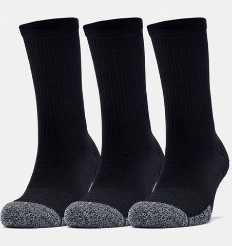 UA Heat Gear Crew Sock 3-pack