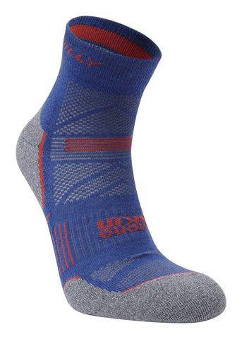 Supreme Hilly's Running Sock Ankle- Denim/ Grey Marl