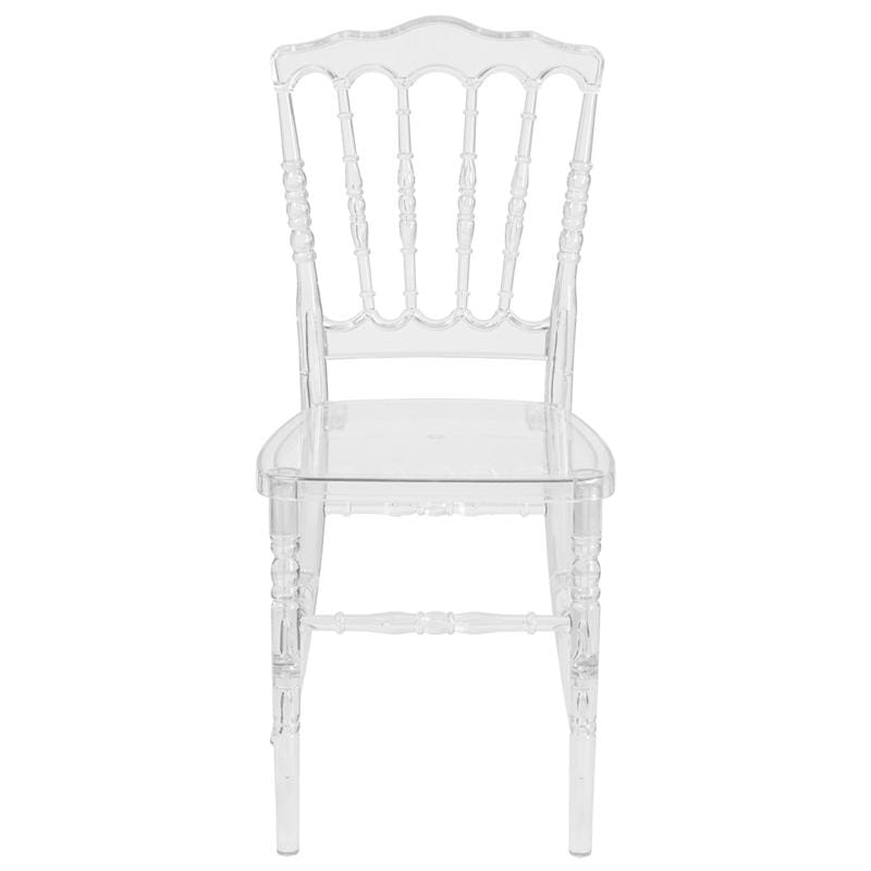 Flash Furniture BH-H002-CRYSTAL-GG Napoleon Chair Crystal Ice
