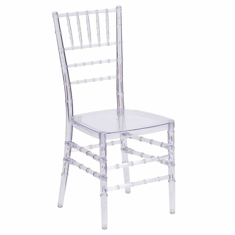Flash Furniture Elegance Crystal Stacking Chiavari Chair