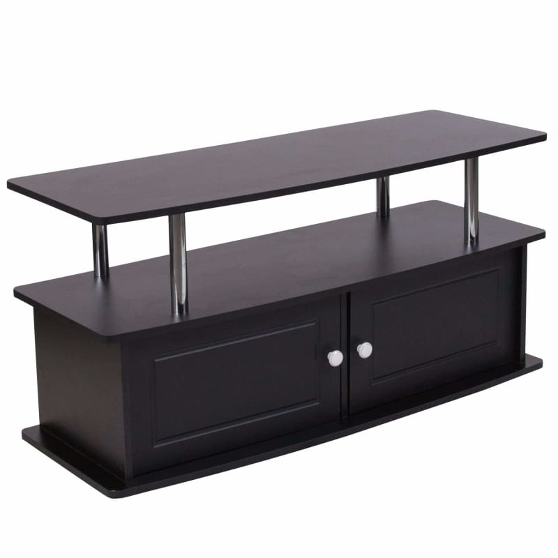 Flash Furniture, Flash Furniture Evanston TV Stand with Shelves NAN-NJ-TS082-GG,