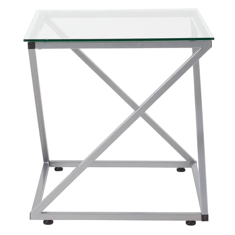 Flash Furniture NAN-JH-1737-GG End Table w/ Steel Design