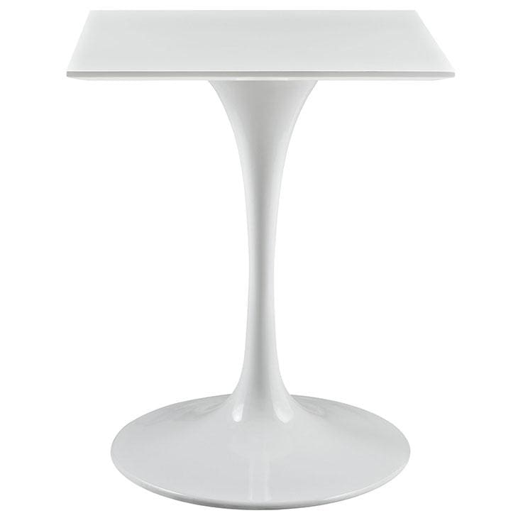 "Lippa 24"" Square Wood Top Table EEI-1122-WHI"