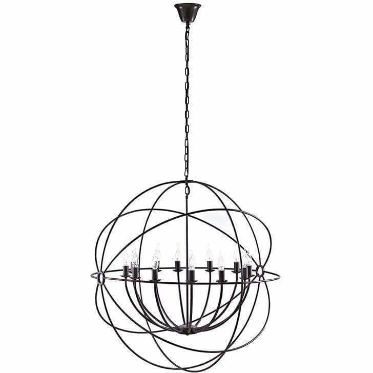 "Modway Furniture, Modway Furniture Atom 39.5"" Chandelier in Brown, [product_id]"