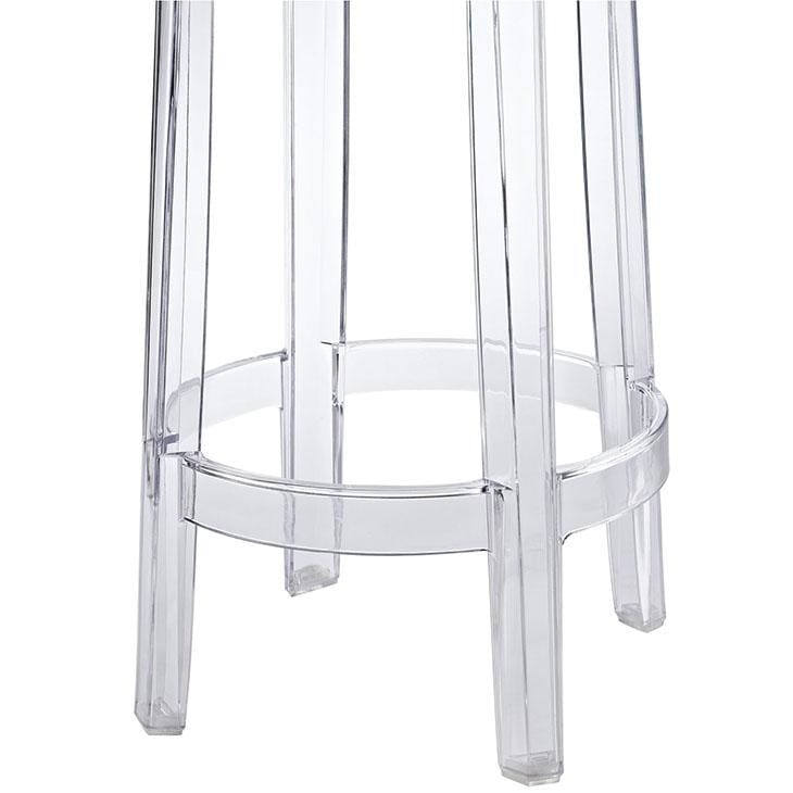 Modway EEI-171-CLR Clear Counter Stool