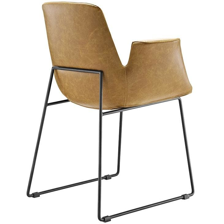 Modway Furniture Eei-1806 Aloft Dining Armchair - Furniture > Chairs > Kitchen & Dining Room Chairs