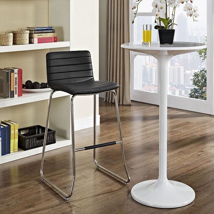 Modway Furniture Dive Bar Stool Black EEI-1030-BLK