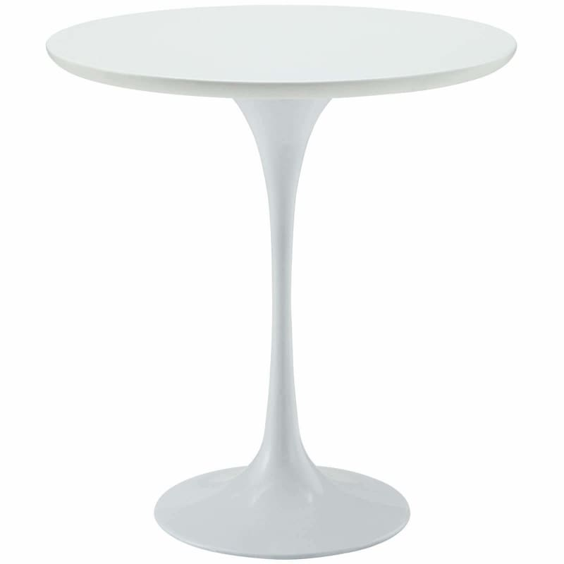 "Modway Furniture EEI-271-WHI Lippa 20"" Wood Side Table White"