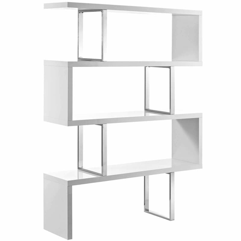 Modway Furniture, Modway Meander Stand Bookshelf Brown EEI-2046 Brown or White, [product_id]