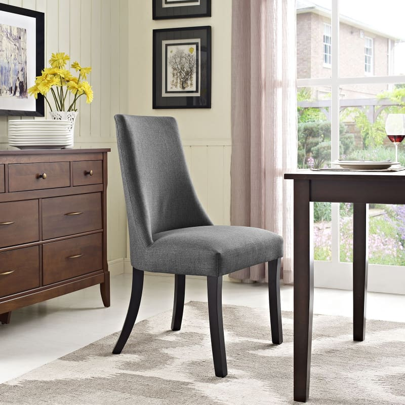 Modway Furniture Reverie Dining Side Chair Gray EEI-1038-GRY