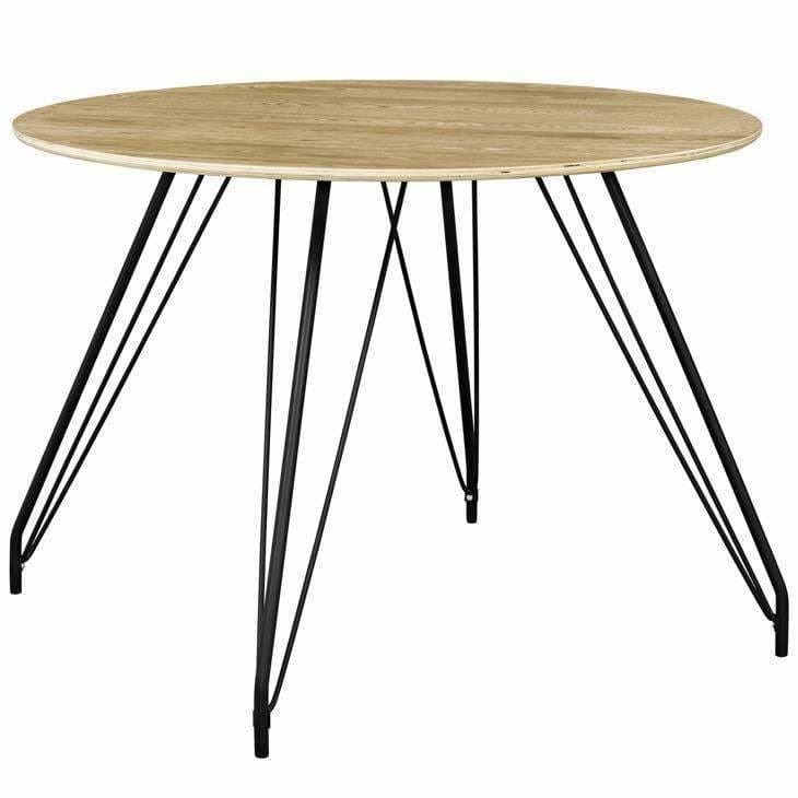 Modway Furniture Satellite Circular Dining Table Eei 2670 Mod Home