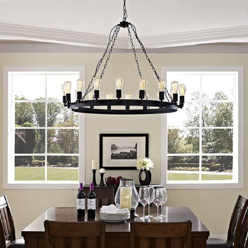 Modway Furniture Teleport 43 Chandelier Brown EEI-2117-BRN - Home & Garden > Lighting > Lighting Fixtures > Chandeliers