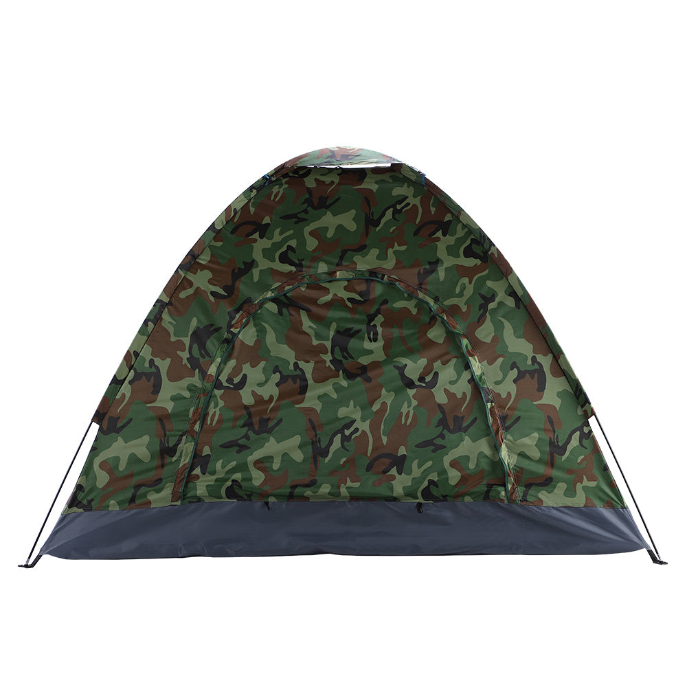 Camouflage Waterproof Camping Tent for 3-4 Person