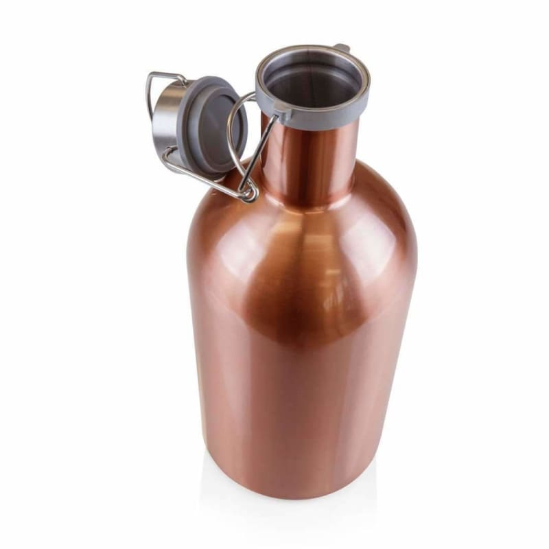 Picnic Time, Picnic Time 102-00-106 Stainless Steel 64-oz. Growler Copper,