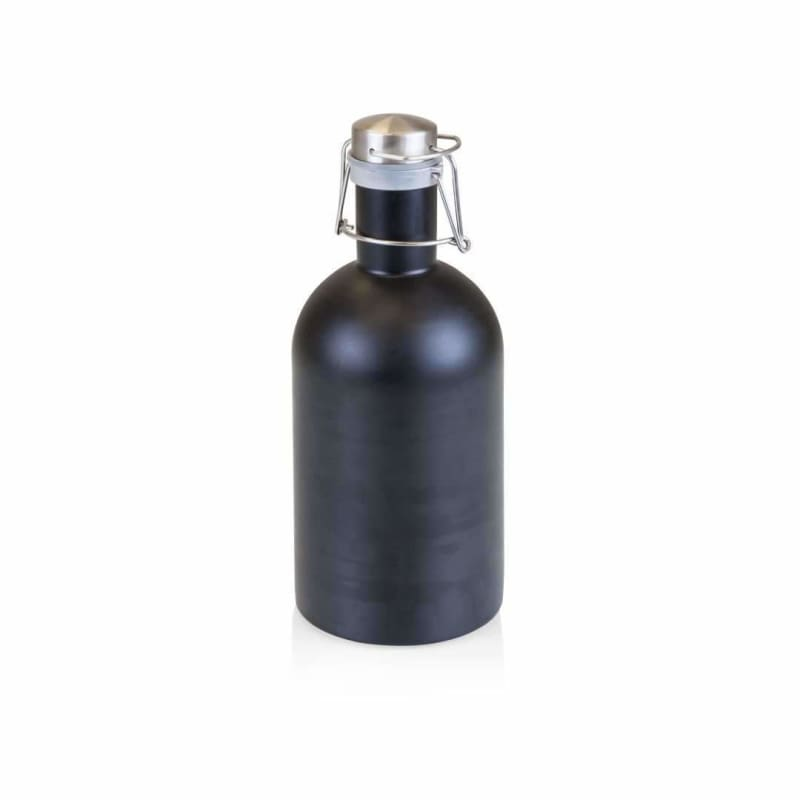 Picnic Time, Picnic Time 102-00-175 Stainless Steel 64-oz. Growler Matte Black,