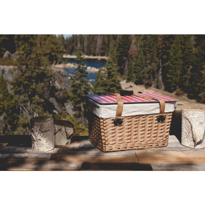 Picnic Time 119-00 Canasta Grande Wicker Basket - Home & Garden > Kitchen & Dining > Food & Beverage Carriers > Picnic Baskets
