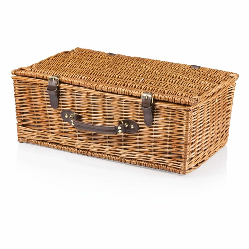 Picnic Time, Picnic Time 207-50-404 Newbury Picnic Basket Navy / Plaid,