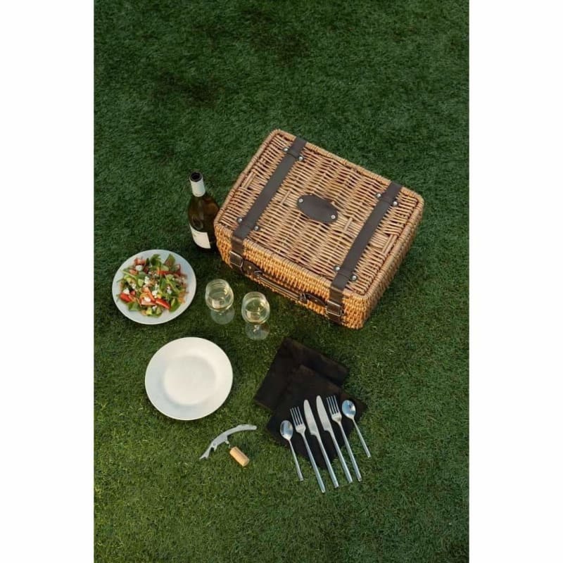 Picnic Time, Picnic Time 208-40-179 Champion Picnic Basket Black,