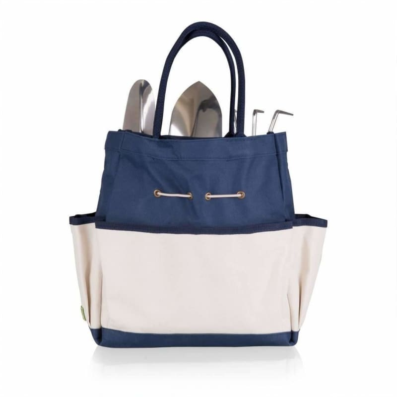 Picnic Time, Picnic Time 543-93-138 Garden Tote with Tools Navy,