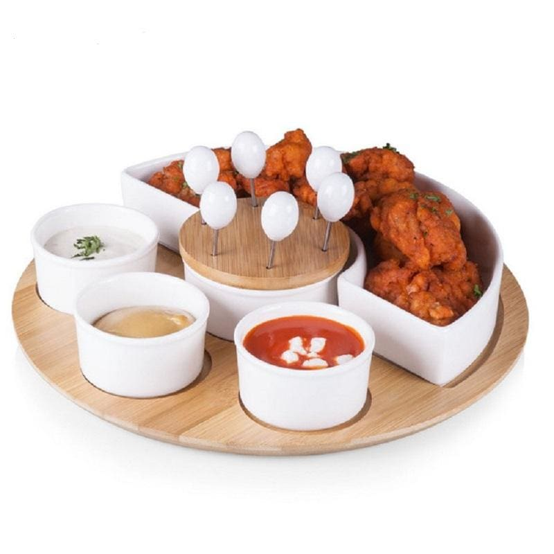 Picnic Time Symphony Appetizer Serving Set 949-13-505