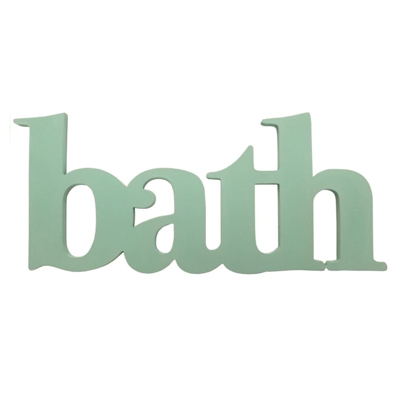 Stratton Seafoam Bath Wall Decor S07753