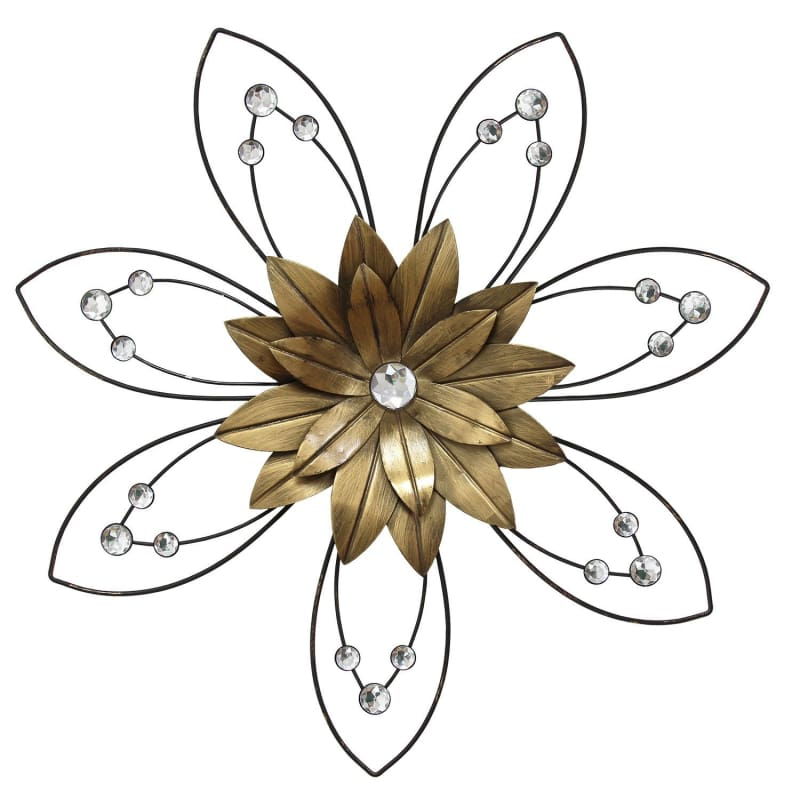 Stratton Home Decor S10166 Enchanting Flower ll Wall Decor