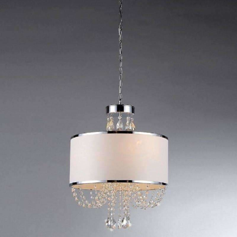 Warehouse of Tiffany, Warehouse of Tiffany RL7938-4 Hera Shaded Crystal Chandelier, [product_id]
